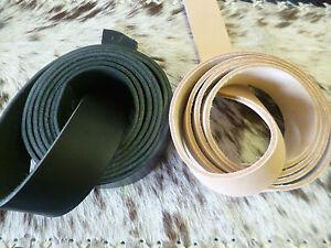 Lederriemen-Schwertgurtel-034-Best-034-Gurtelriemen-natur-schwarz-d-braun-bis-250-cm