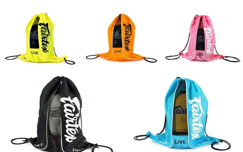FAIRTEX BAG6 SACH Punch BAG CARRY GLOVE CONTAINER MUAY THAI KICK BOXING MMA K1