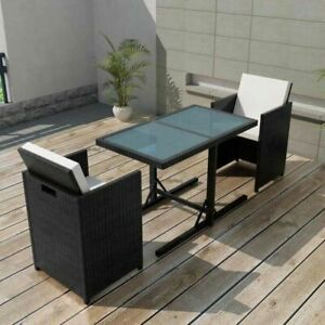 vidaXL-Garden-Dining-Set-7-Pieces-Wicker-Poly-Rattan-Chairs-Table-Furniture