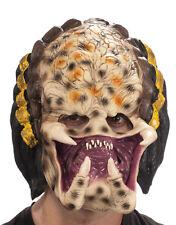 Alieni V Predatore Accessorio Costume, maschera da Uomo Predator 3/4