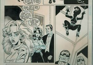 Punisher-Comic-Art-Page-Over-The-Edge-5pg12-Marvel-1996-Jones-Witherby-Ambush