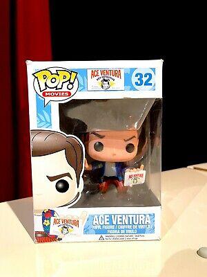 "With Protector Funko Pop!Loose Ace Ventura Pet Detective #32 Rare Grail ""MINT"""