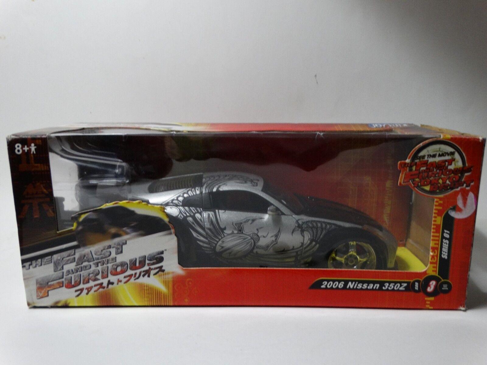 Ertl Joyride Fast And The Furious Tokyo Drift 2006 Nissan 350Z 1 24 Diecast Car