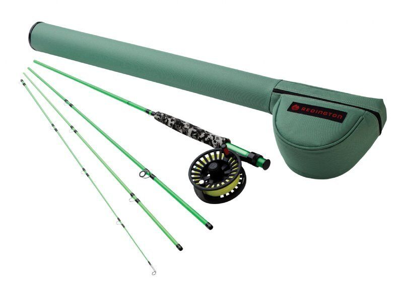 Redington Minnow 580-4 Fly Rod Outfit - 8' 5wt, 4pc Combo - New
