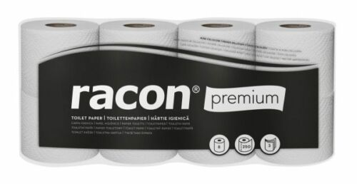 Kleinrollen 56 x Toilettenpapierrolle 3-lagig Zellstoff Klopapier WC Papier