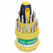 31 in 1 Screwdriver Set Mobile Phone Repair Kit Tools T4 T5 T6 T7 T8 T10 T15 T20
