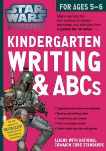 Kindergarten-Writing-amp-ABCs-Paperback-by-Brain-Quest-EDT-Brand-New-Free