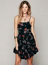 Free People Circle of Flowers Lace Up Slip Dress Size XS