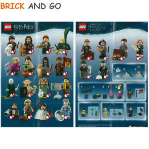 LEGO-Figurine-Minifigure-71022-Serie-Harry-Potter-Series-Au-Choix-NEUF-NEW
