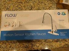 Flow Motion Sensor Kitchen Faucet Original Touchless Design Brushed Nickel For Sale Online Ebay