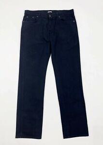 Wampum-jeans-uomo-usato-vintage-W38-tg-52-denim-gamba-dritta-boyfriend-T6483