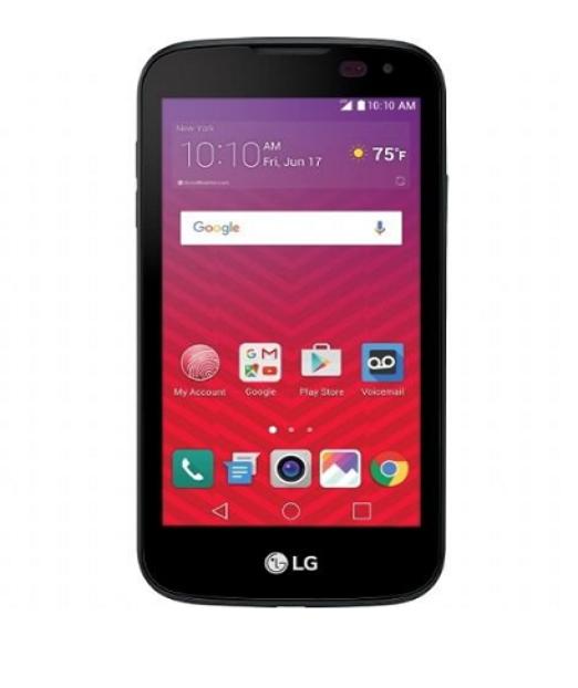 Virgin Mobile LG K3 Prepaid Cell Phone Black 8gb