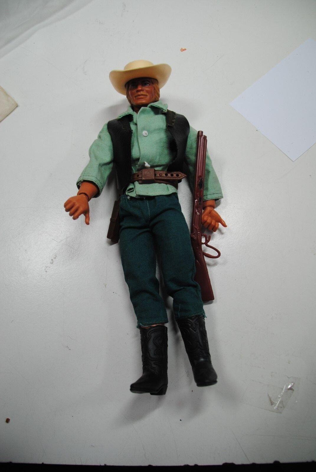 Big Jim MATTEL viejo de los APACHES SHATTERHAND  figura de mano de agarre  Ranger de Texas