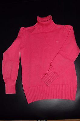 *esprit*, Pinkfarb. Rollkragen-pullover Gr. 116/122, Top-zustand