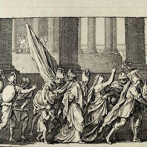 Sebastien le clerc eau forte engraving etching annals of toulouse de dufaille