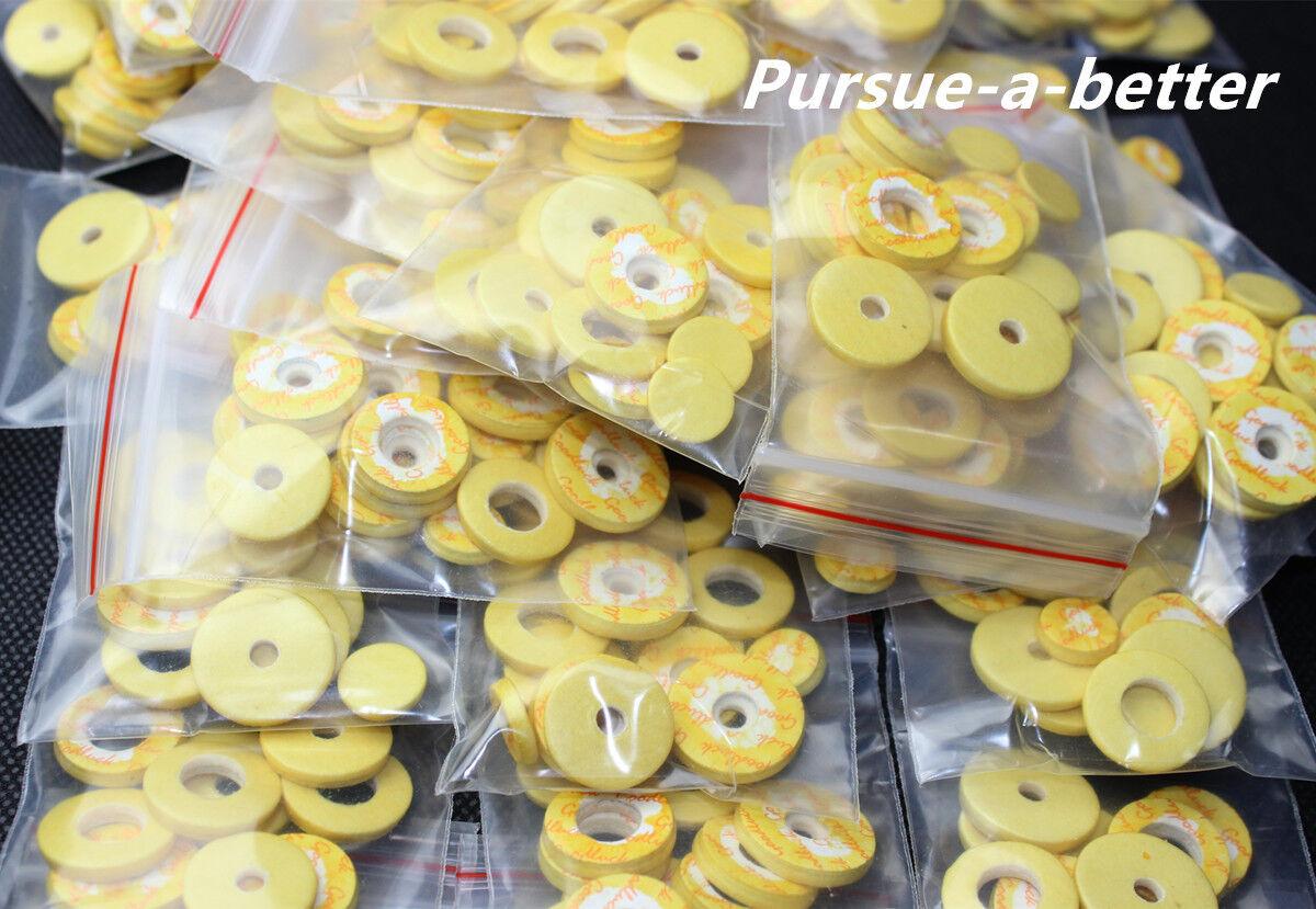 10 Set Flauta almohadillas 17 17 17 abierto agujero gran material Flauta Accesorios 9241e3