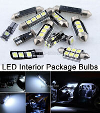 Error Free Premium White Interior LED Light Package KIT For 12-2014 VW Passat B7