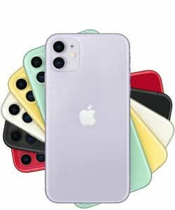 Apple-iPhone-11-64-128-256GB-White-Black-Red-Green-Yellow-Purple-GSM-Unlocked