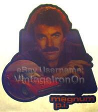 80s HI Tom Selleck Magnum P.I. Ferrari TV Show Orig vtg t-Shirt Iron-On Transfer