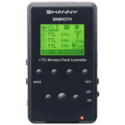 Shanny SN910TX 2.4G Wireless AF i-TTL Speedlite Transmitter for Nikon CLS