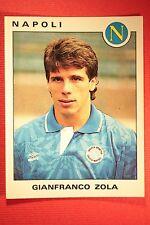 Panini Calciatori 1991/92 N. 239 NAPOLI ZOLA OTTIMA / EDICOLA !!!