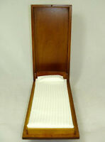 Dollhouse Miniature Single Walnut Murphy Bed Miniatures For Doll House