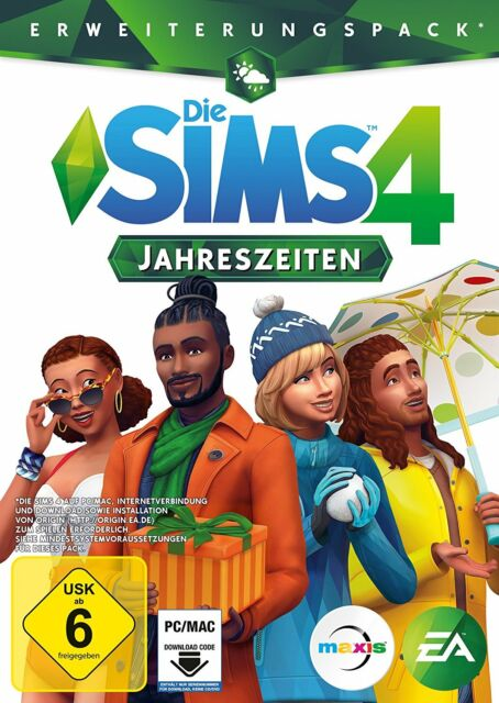 Die Sims 4 - Jahreszeiten (PC, 2018, Nur der Origin Key Download Code) Keine DVD