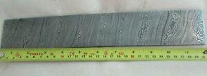Damascus steel Billet ( handforged) 1095 steel
