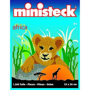 Afrika Löwenbaby ca 1300 Teile Ministeck 31304 999003