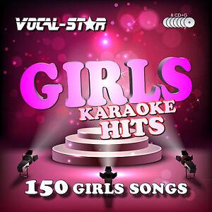 VOCAL-STAR-GIRLS-KARAOKE-CDG-CD-G-DISC-SET-150-SONGS-FOR-KARAOKE-MACHINE