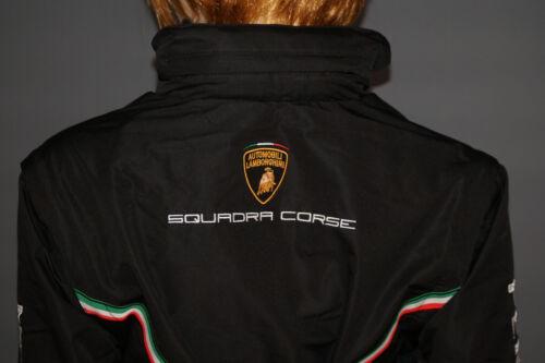 Lamborghini Squadra Corse Windbreaker Weste Kapuze schwarz Damen WMNS 2016