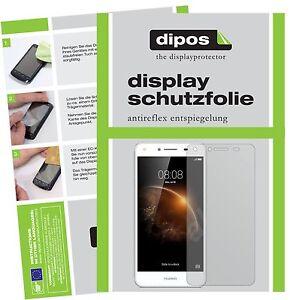 2x-Huawei-Y6-II-Compact-Film-de-protection-d-039-ecran-protecteur-antireflet-dipos