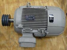 Siemens 1le15231dc234aa5 Three Phase Motor 10hp 60hz 115sf 980 1185rpm