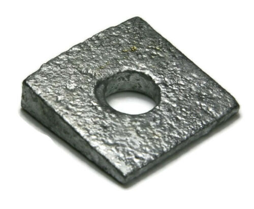 "Sizes 3//8/"" To 1-1//2/"" Beveled Square Washers Hot Dip Galvanized Steel Washers"