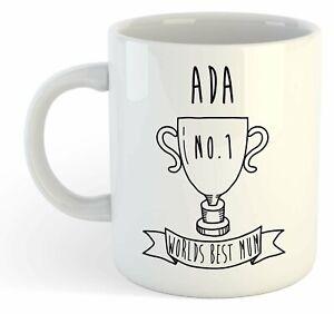 Ada - Monde Meilleure Maman Trophy Tasse - Pour Cadeau De Fête Des Mères , 6gyxjxfz-07235740-214577276