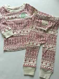 357e78dc5a2f Burts Bees Baby Boy Girl Family 2 Piece Pajamas Size 3 6 9 12 Months ...