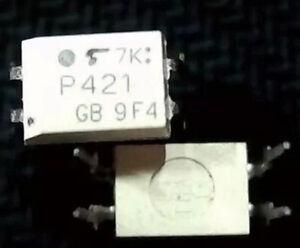 10pcs-TLP421-P421-GB-DIP-4-IC-Optocouplers-original