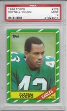 1986 Topps #278 Roynell YOUNG - PSA 9+++ Eagles