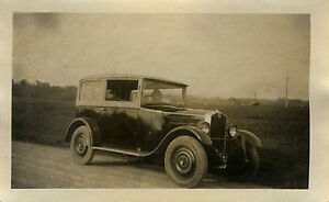 PHOTO-ANCIENNE-VINTAGE-SNAPSHOT-VOITURE-AUTOMOBILE-TACOT-OLD-CAR-1930