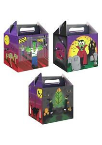 Halloween-Party-Lunch-Boxes-Childrens-Party-Treats-Trick-or-Treat-Bags-Spooky