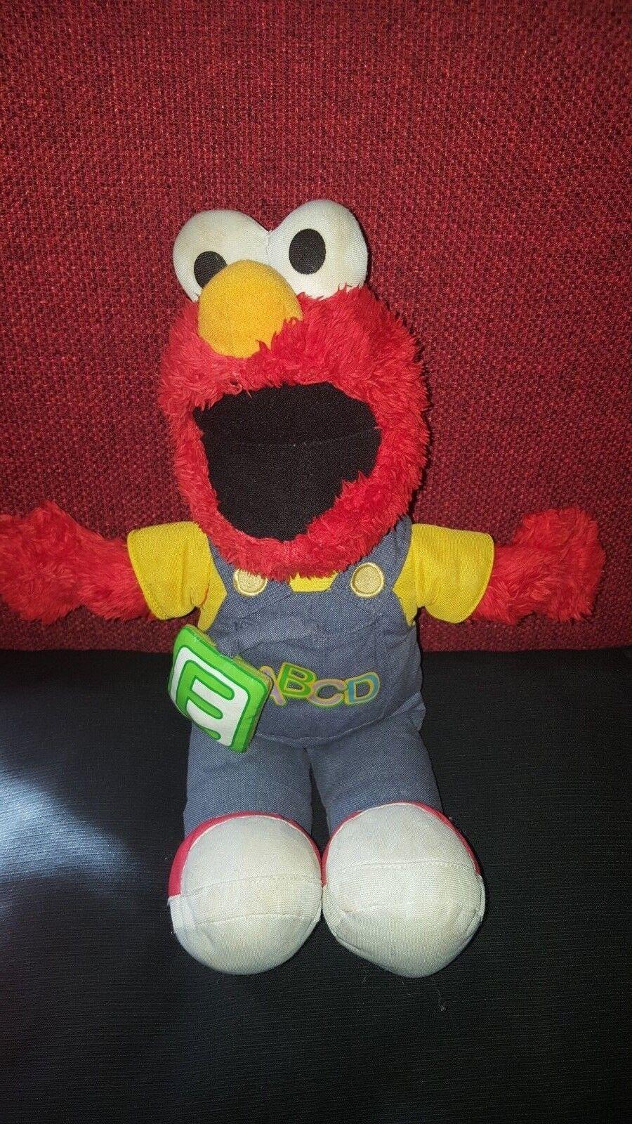 Fisher Price / Mattel 2008 - Sesamstrasse - ABC Elmo - spricht & singt englisch