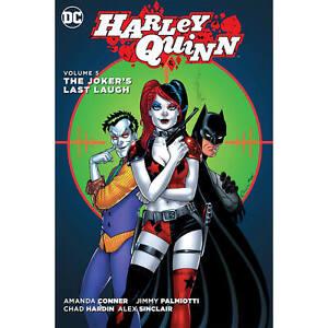 HARLEY-QUINN-VOL-05-THE-JOKERS-LAST-LAUGH-HARDCOVER-DC-Comics-Book-S1
