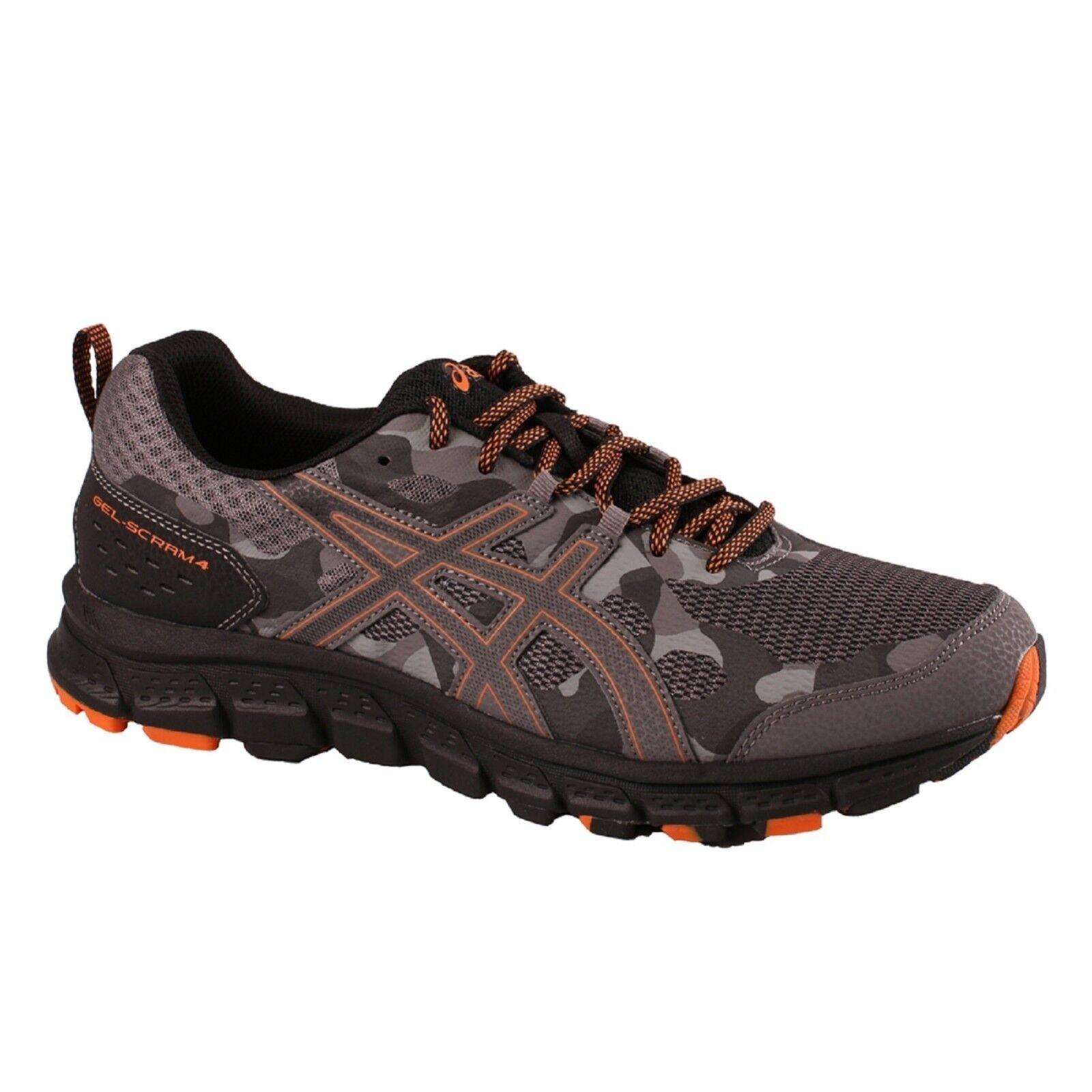 Gli asic 1011a187 gel-scram 4 (4e) 1011a187 asic / 020 carbonio lava tracce delle scarpe da corsa e36cd6