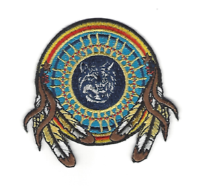 Wolf Dream Catcher Patch Native American Indian