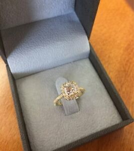 2-45-ct-Cushion-Cut-Diamond-Halo-Engagement-Wedding-Ring-In-14k-Yellow-Gold-Over