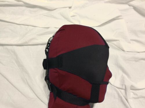 Trainer Style, Soft, Nose Opening Darlex Blindfold