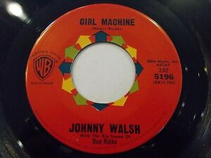 Johnny-Walsh-Girl-Machine-Beautiful-Obsession-45-1961-WB-Vinyl-Record