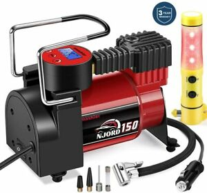 DUAL-Air-Compressor-Inflator-Ideal-for-Truck-Bus-SUV-4X4-RV-tires-Extended