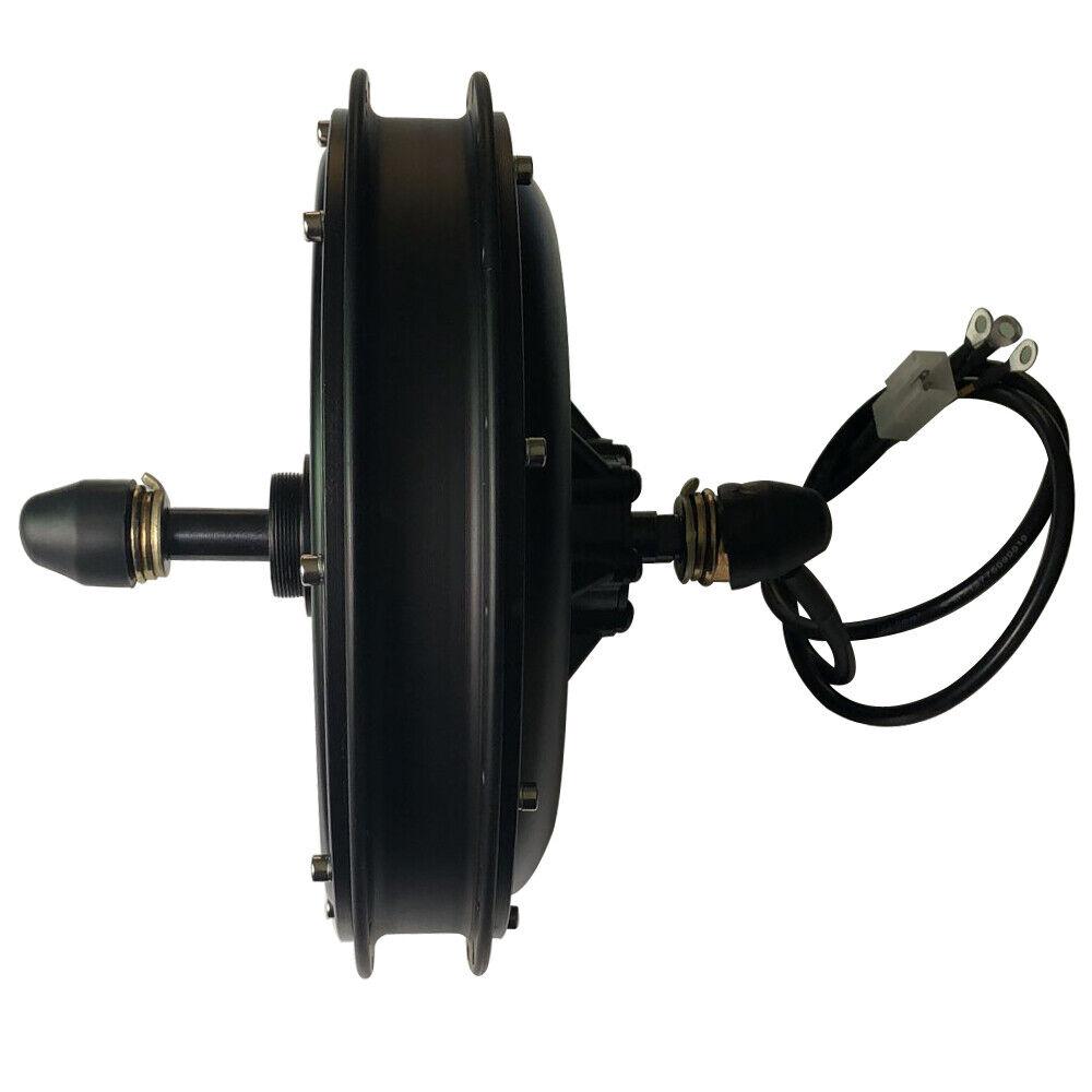 CSC 48V 1000W Brushless Gearless MTB Hub Cassette Threaded Electric bike Motor