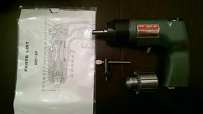 NRT-8P Reversible Tapper gun, Michigan Pneumatic Tool